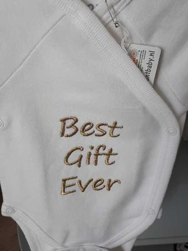 Body best gift ever jongen of meisje
