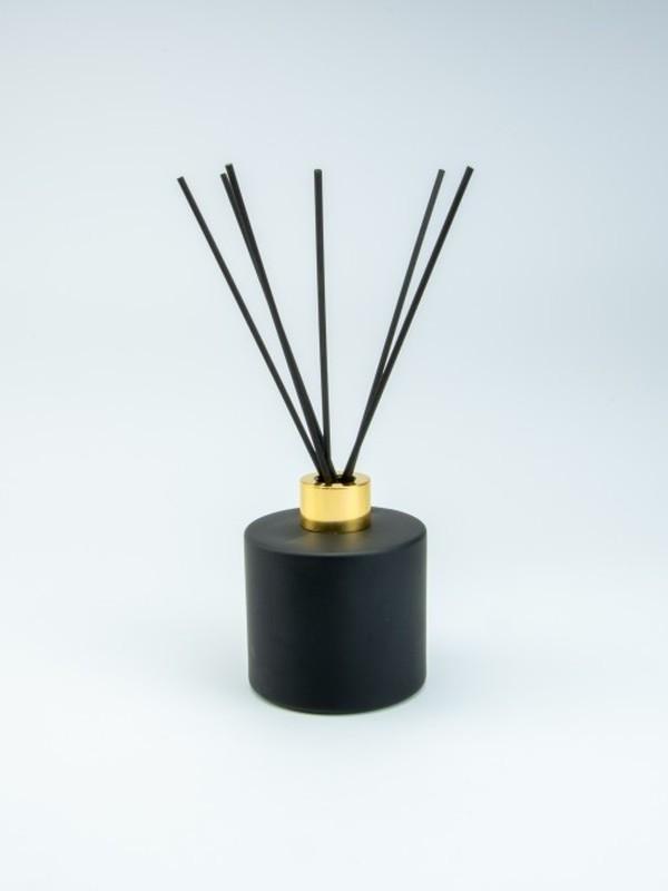 Parfumfles zwart groot