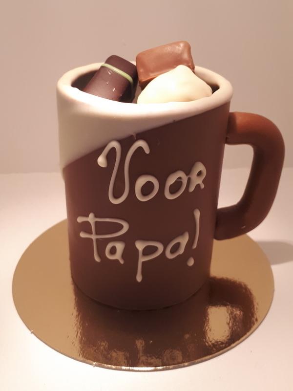 Papa's chocolade koffietas