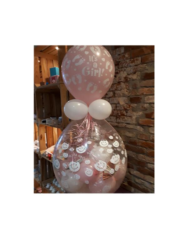 Geschenkballon geboorte-verjaardag-huwelijk-jubileum